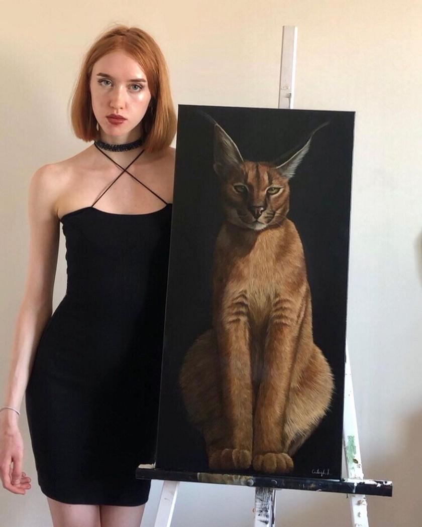 A fiatal művész elképesztő rajzokat alkot az állatokról.