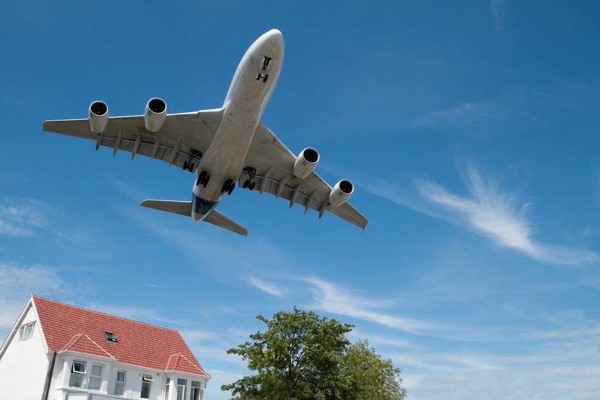 repülő zajszennyezés