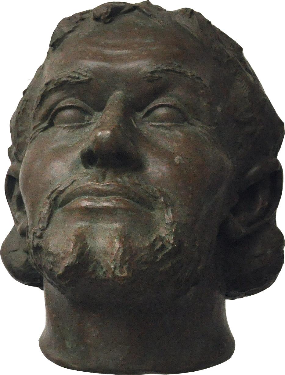 Melyik magyar király arcrekonstrukciója látszik a képen?