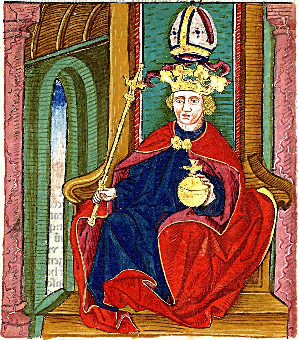 Ki volt az az uralkodó, akit püspök királyként is emlegettek?