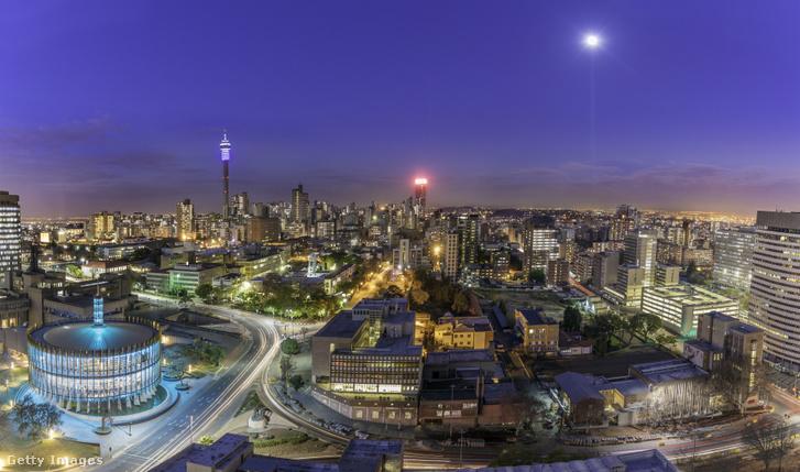 Johannesburg látképe