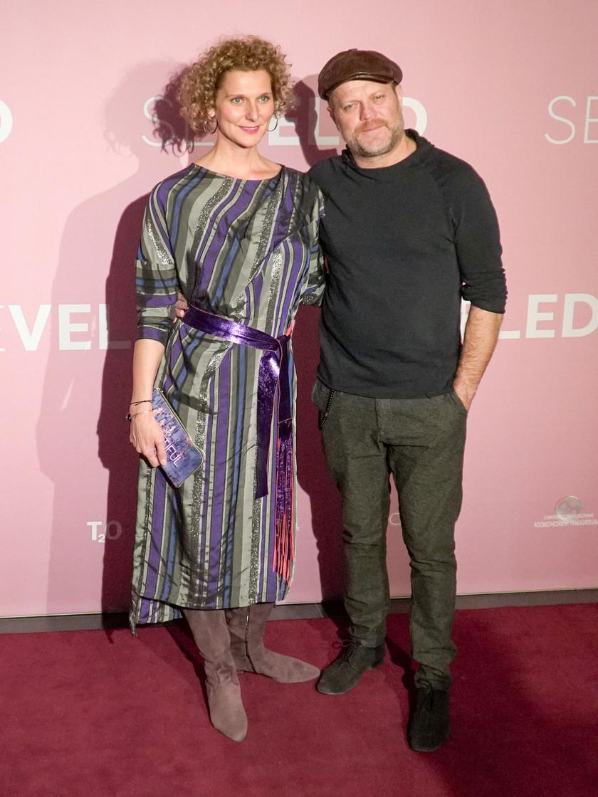 Rezes Judit és Szabó Győző 2019 decemberében a Seveled című film premierjén.