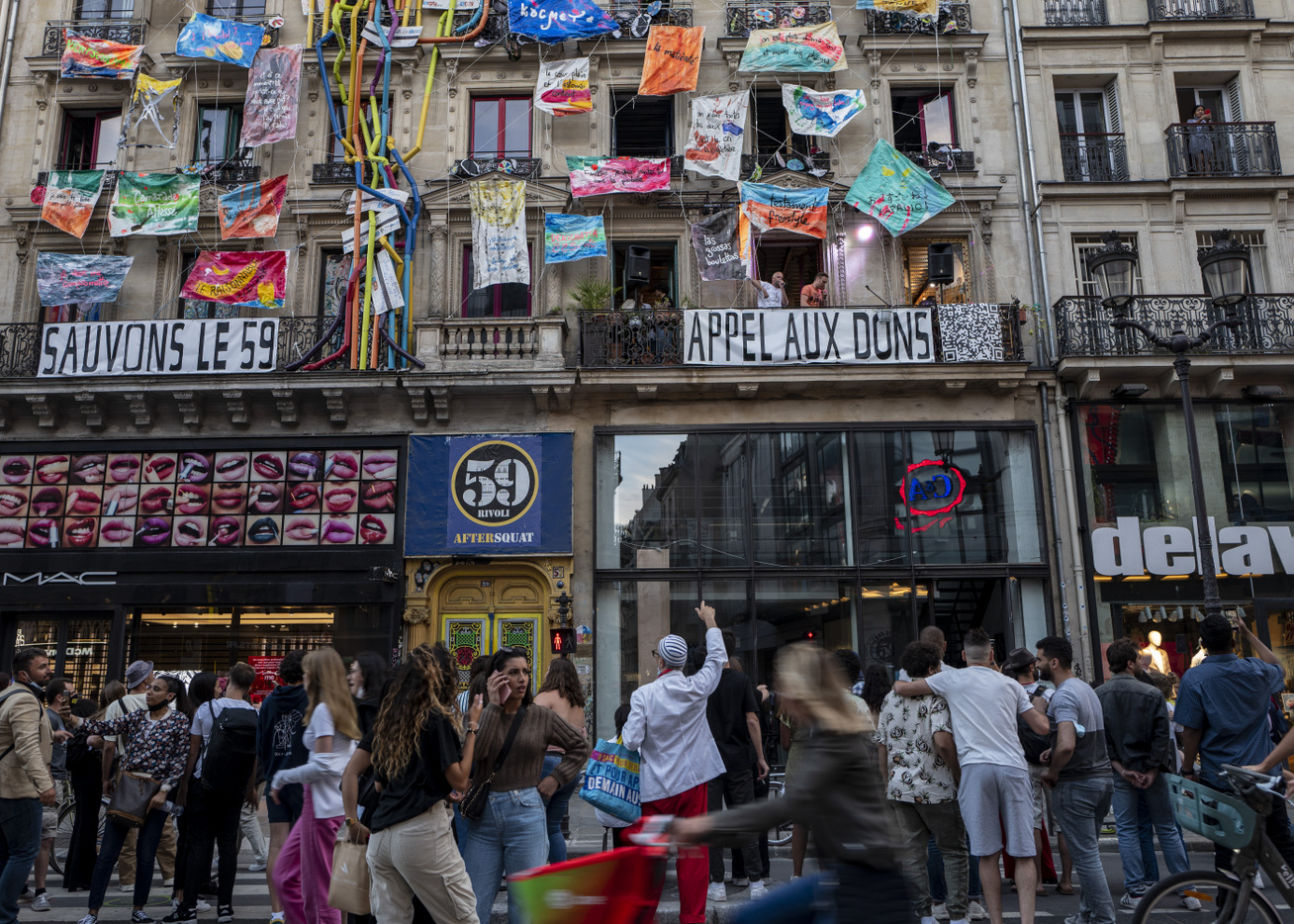 59 Rivoli Párizs