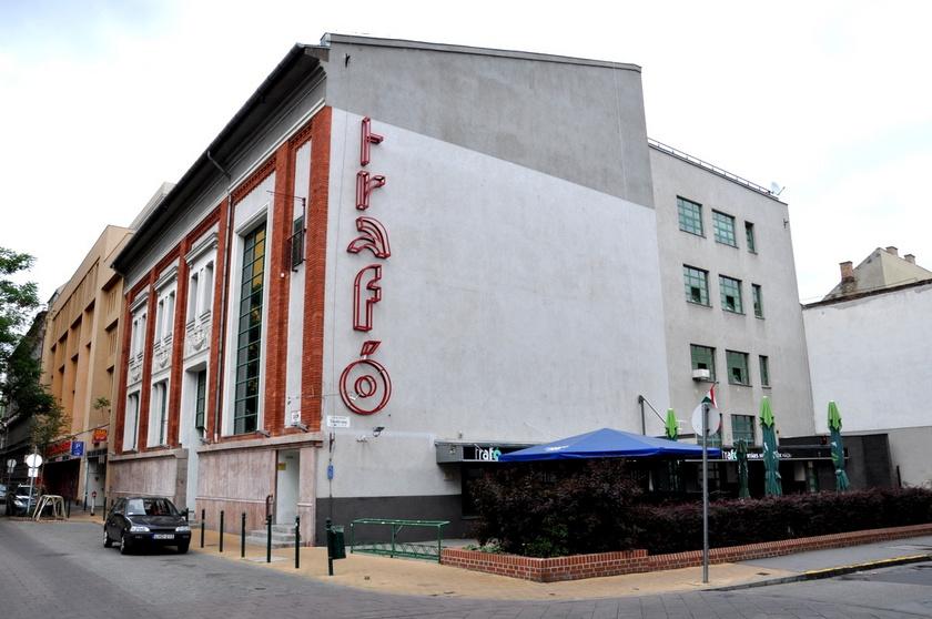 A Trafó Kortárs Művészetek Háza.