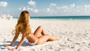 A strandon elégítette ki magát egy nő, mindössze 20 másodperc alatt