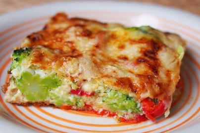 Puha, sajtos brokkolifelfújt: könnyed ebédként is megállja a helyét