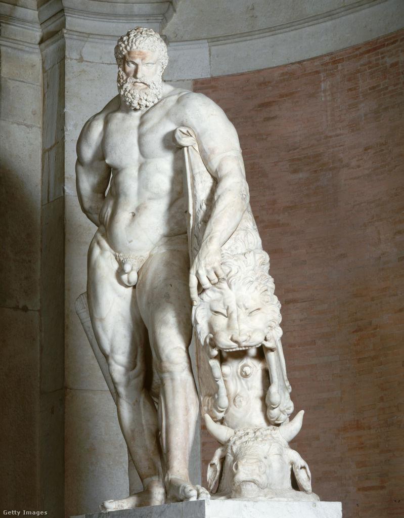 Glükón: Farnese-Herkules, 4. század.