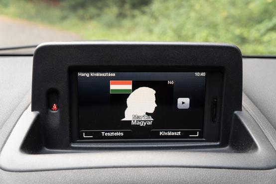 Tud magyarul a navigáció, pedig Nyugat-európai az autó