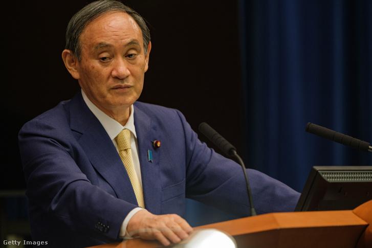 Szuga Josihide japán miniszterelnök