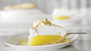 Nyári kurkumás-citromos pite – tojásfehérjével a tetején lesz igazán tökéletes