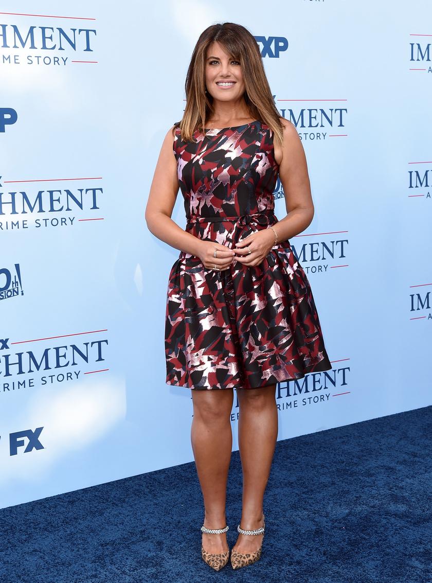 Monica Lewinsky az Impeachment: American Crime Story premierjére nagyon csinosan érkezett.