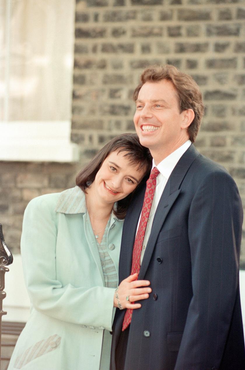 Tony Blair és Cherie 1994-ben.