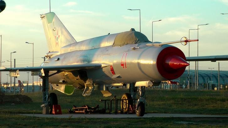 MIG–21-es vadászgép