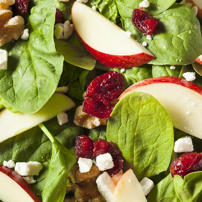 Roppanós, friss almasaláta - Egészséges és nagyon finom