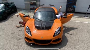Lotus Exige 410 Final Edition versenypályás menetpróba - 2021.