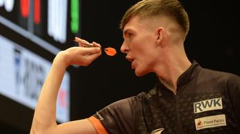 Továbbjutott a világbajnok a Hungarian Darts Trophyn