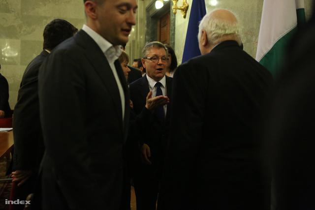 Matolcsy György bizottsági meghallgatása jegybankelnöki kinevezése után