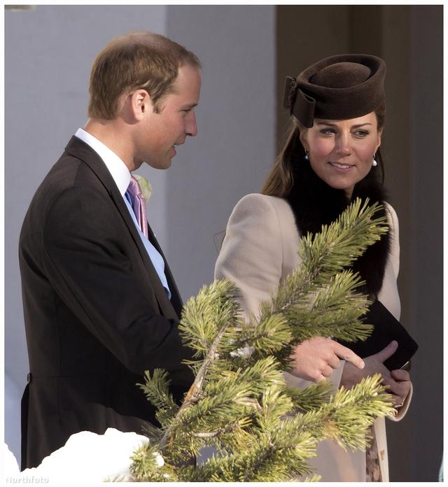 Middleton visszafogott kabátban ment az esküvőre.
