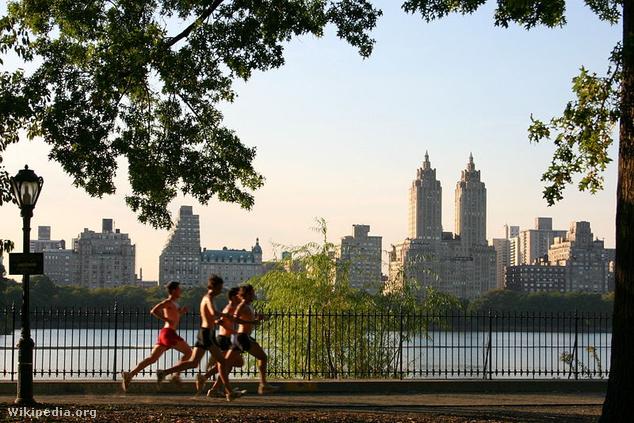 New Yorkban játszódó film szinte nem is létezhet Central Parkban futó emberek nélkül