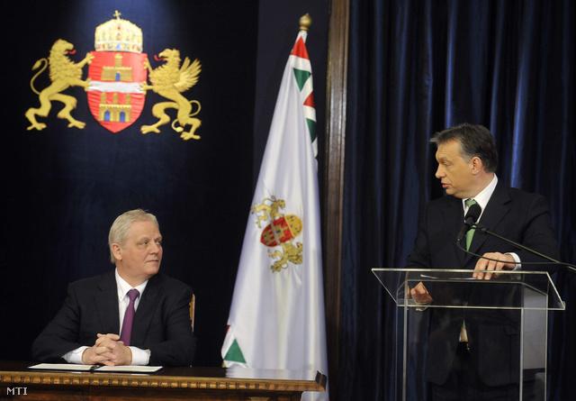 Tarlós István és Orbán Viktor