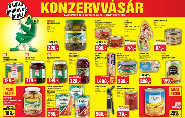 Spar termékek