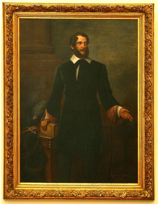 Ábrányi Lajos festménye Kossuthról