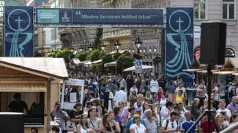 Ez volt az 52. Nemzetközi Eucharisztikus Kongresszus első napja