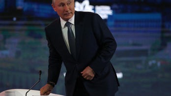 Putyin kész tárgyalni Zelenszkijjel, de van egy feltétele