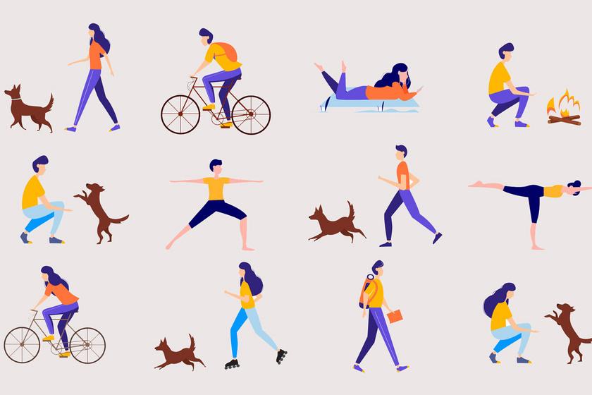 A mozgás legyen változatos!