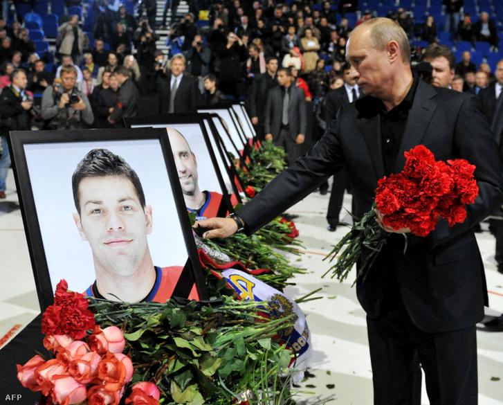 Vlagyimir Putyin is részt vett a megemlékezésen