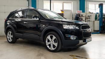 Fotelnepper: Chevrolet Captiva – 2012.