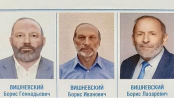 Három hasonló kinézetű, ugyanolyan nevű képviselőjelölt szerepel a szavazólapon