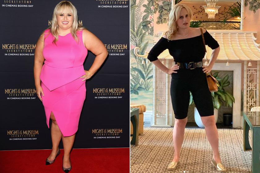 A színésznő 2014-ben és napjainkban.