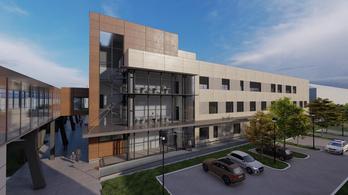 Új épülettömböt kap a székesfehérvári Szent György-kórház