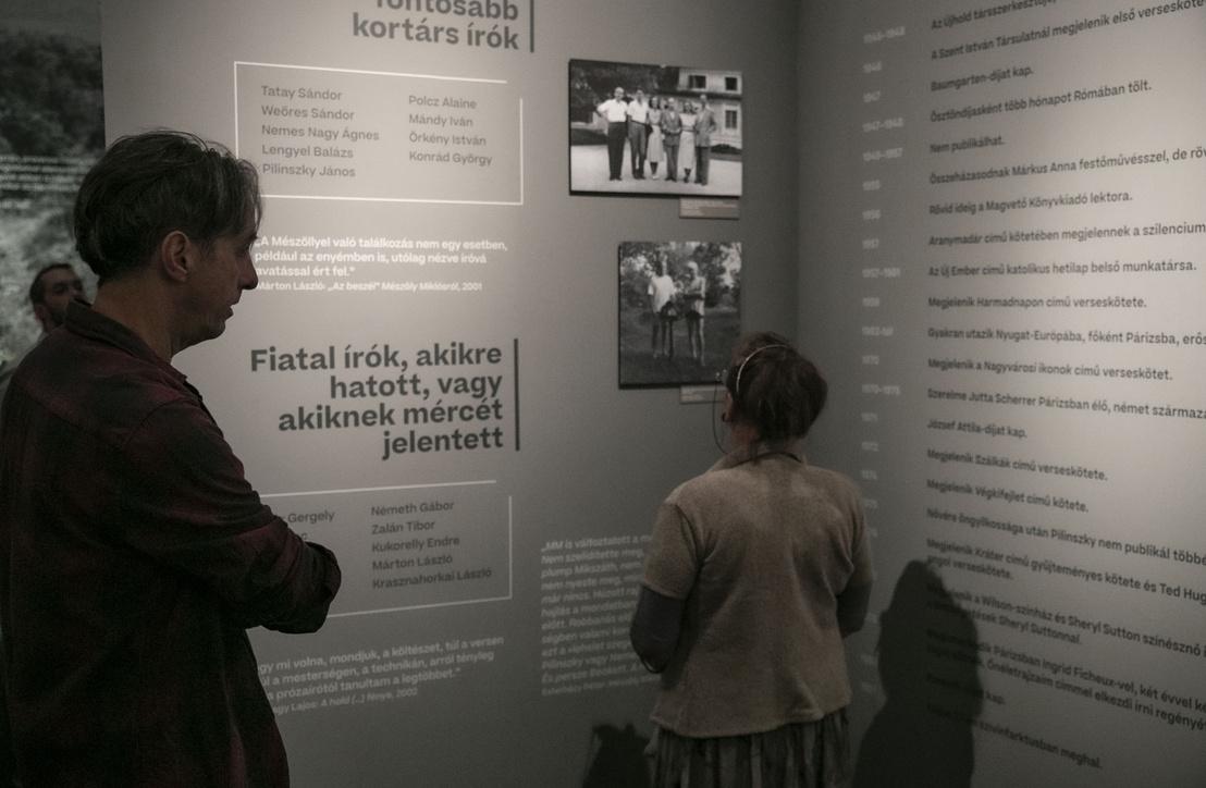 Két portré – Mészöly–Pilinszky 100 kiállítás