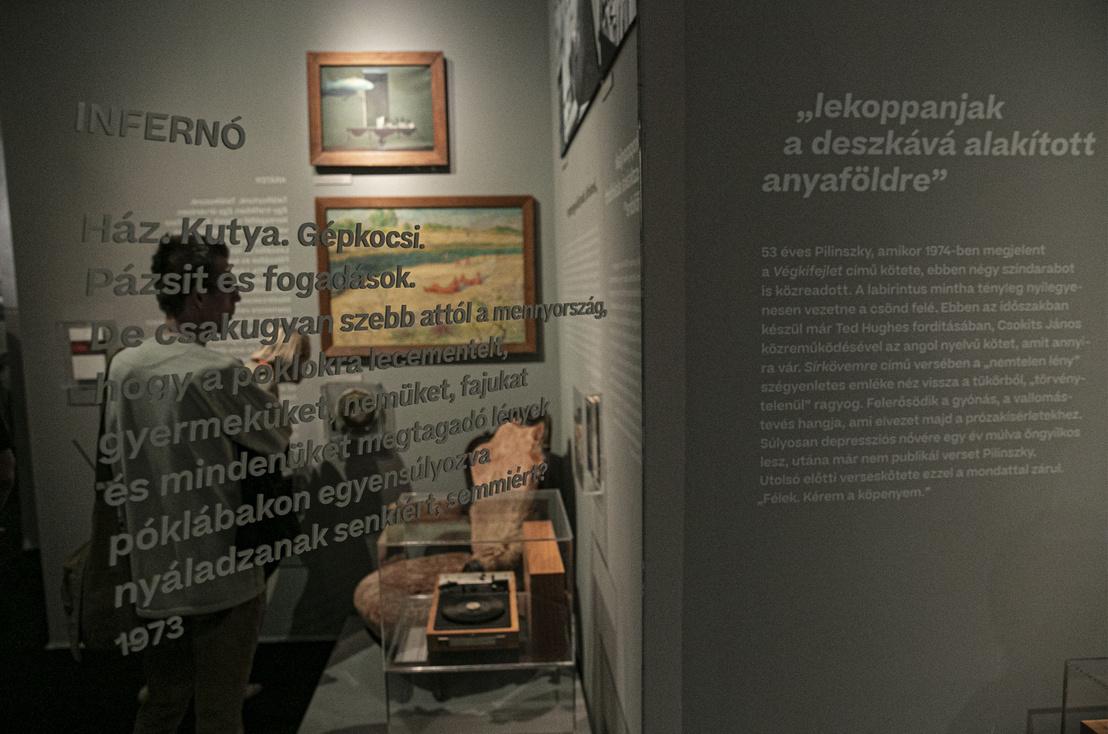 Két portré – Mészöly–Pilinszky 100 című kiállítás
