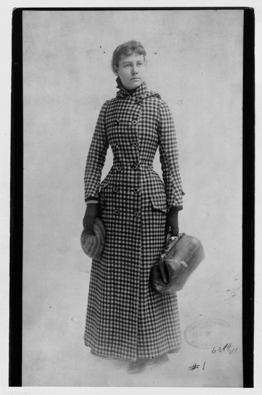 Így indult el Nellie Bly a világ körüli útjára.