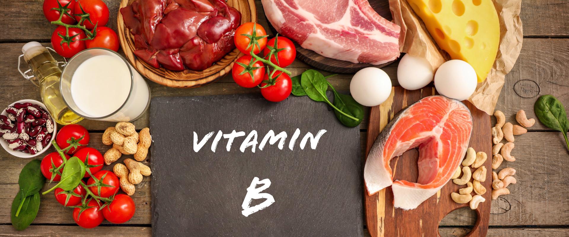 B vitamin cover