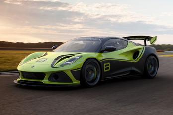 Elkészült az új Lotus Emira első versenyváltozata