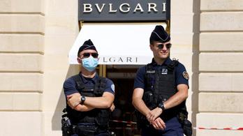 Tízmillió eurós ékszerrablás: kirámolták a Bvlgarit