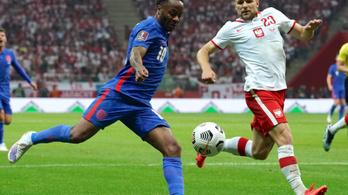 A ráadásban mentettek pontot a lengyelek Anglia ellen