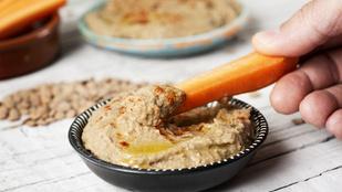 Lencsés hummusz izgalmasan – zöldségek mellett és szendvicsekben is finom