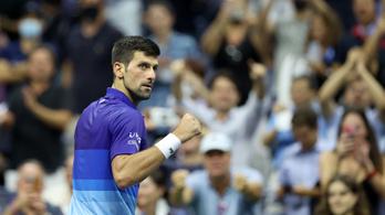 Kettő győzelem és Novak Djokovics történelmet ír a US Openen