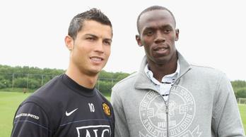 Usain Bolt: Cristiano Ronaldo egy gép