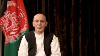 Bocsánatot kért a volt afgán elnök, amiért szó nélkül elmenekült az országból