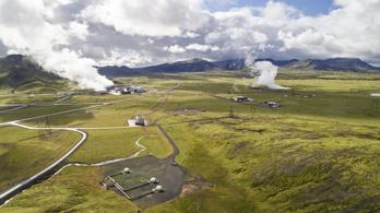 Izland bekapcsolta a gépét, amely követ csinál a szén-dioxidból