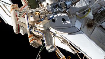 Nem okozott gondot a hajnalban érzékelt füst a Nemzetközi Űrállomáson