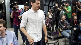 Iker Casillas Dubajban nyitotta meg kapusedző-központját