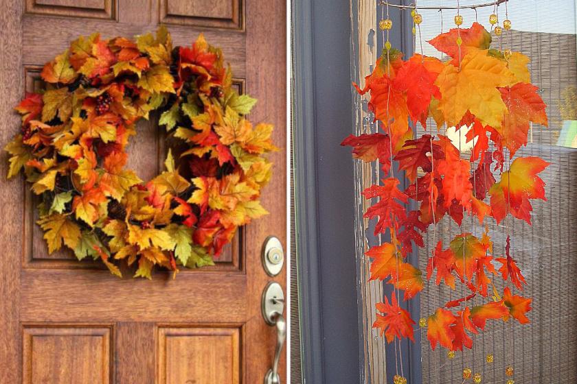 8 mutatós dekoráció őszi falevelekből: feldobják az otthont pompás színeikkel