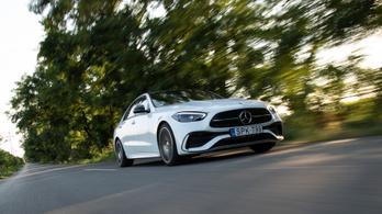 Teszt: Mercedes-Benz C 300 AMG Line (W206)